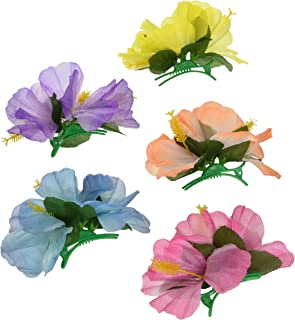 Hibiscus Luau 发夹 - 12 个