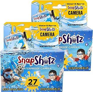 SnapShotz 一次性防水泳池水下 35 毫米摄像头,2 件装