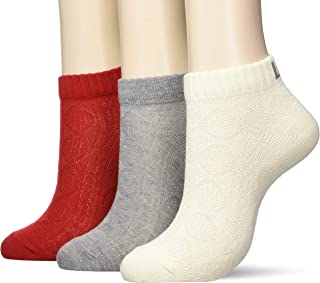 Lee 运动鞋 线袜 / 3双装 Lee 女士 混搭A 日本 23〜25cm (FREE サイズ)