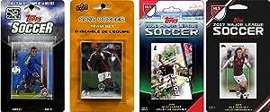 C&I Collectable MLS Colorado Rapids 男士 4 种不同的*集换卡队套装,白色