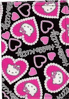 【Hello Kitty】Hello Kitty 护照 罩子 金银杏 黑色 234514