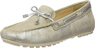 Geox 健乐士女式 D Leelyan 麂皮软鞋