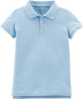 OshKosh B'Gosh 女童短袖制服 Polo 衫