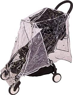 J.L. Childress 迪士尼婴儿通用婴儿车防雨罩,米奇金属银色