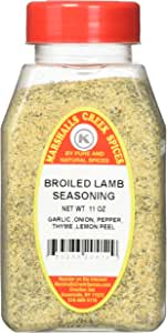 Marshalls Creek Kosher Spices BROILED LAMB SEASONING NO SALT, 11 OZ