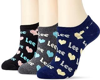[Lee] 心形商标运动鞋用袜子・3双套装/女士 AD0052A340