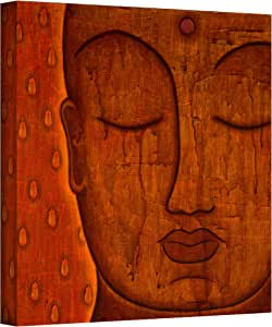 ArtWall Gloria Rothrock 'Awakened Mind' Gallery Wrapped Canvas, 18 by 18-Inch