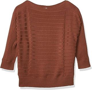 Club Monaco 女士羊毛多罗纹蝙蝠衫