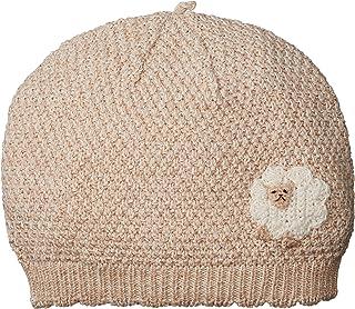 Hoppetta 有机棉帽子 ベージュ ひつじ 頭まわり約42cm~48cm