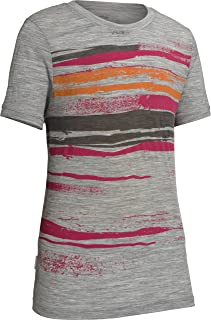 Icebreaker Merino Tech Lite 女童 T 恤短袖海岸线