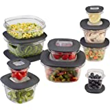 Rubbermaid Premier Food Storage Containers 灰色 20-Piece
