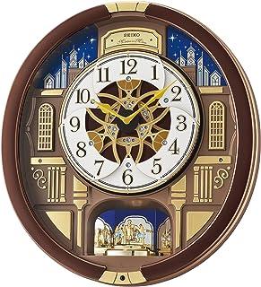SEIKO 精工 ' 音乐 运动壁 木制 时钟,颜色:棕色(型号:QXM362BRH)