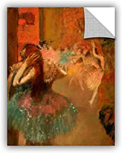 ArtWall Edgar Degas's Ballet Scene Art Appeelz Removable Wall Art Graphic, 18 x 24""