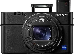Sony 索尼高级数字紧凑型高级 4K 相机 - 黑色DSCRX100M6.CEH 照相机机身 黑色