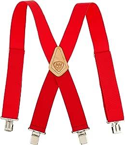 mcguire-nicholas 110c 2英寸 宽红色 suspenders by mcguire-nicholas
