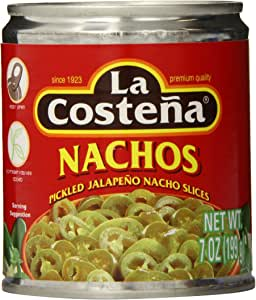La Costena Nacho Jalapeno, 7 Ounce (Pack of 24)