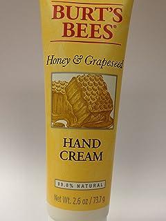 Burt's Bees 手指和脚部蜂蜜与葡萄籽护手霜 2.6 盎司 2片装