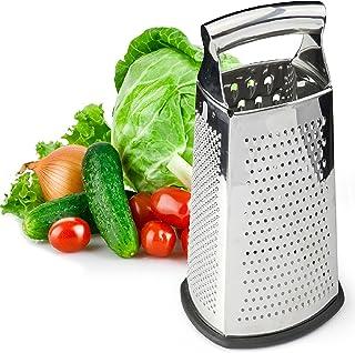 盒式烧烤器,四面不锈钢大号10英寸烤架,适用于Parmesan Cheese、Ginger、蔬菜
