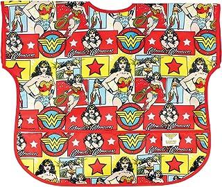 Bumkins DC Comics Waterproof Junior Bib, Wonder Woman Comic (1-3 Years)
