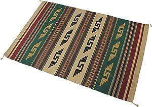 "Splendid Exchange 手工编织亚克力西南部区域地毯,1.52 米 6 英尺 4 X 6 ""Multi"" AX-AY-ABHI-98749"