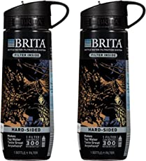 Brita Sport 滤水壶 两件装 20 盎司(约 585.4 毫升) Black Camo 23.7 Ounce