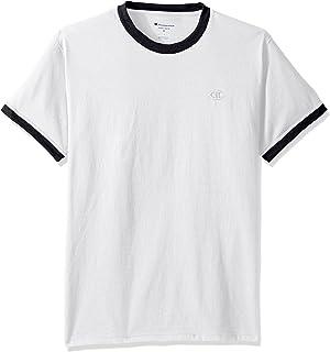 Champion 经典男子撞色滚边T恤