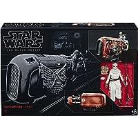 Star Wars 黑色系列 Rey's Speeder Jakku 公仔