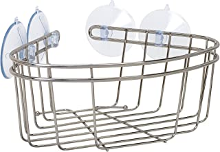 ZPC Zenith Products Corporation Zenna Home 7715BN,角浴盆和淋浴篮,拉丝镍
