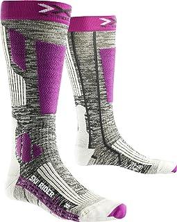X-Socks 女式滑雪袜 Rider 2.0,灰色,女式,SKI RIDER 2.0 LADY 灰色