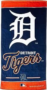 WinCraft MLB 底特律老虎海滩毛巾,球队颜色,均码