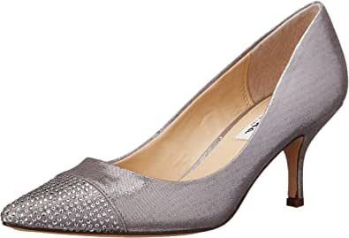 Nina Belanna-FY 女士正装高跟鞋 深银色 8 M US