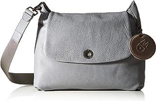 Mandarina Duck 女士 Mellow 皮革手提包,均码 铝 Einheitsgröße