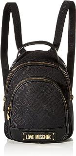 Love Moschino 女士 Borsa 提花 PU 背包手提包,29 x 26 x 12 厘米