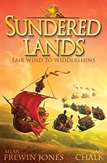 Fair Wind to Widdershins: Book 2 (Sundered Lands) (English Edition)