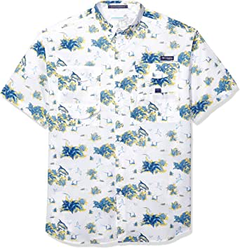 Columbia Super Bonehead 经典衬衫 3X 蓝色 1276382-462-3X