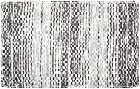 DII CAMZ11081 现代双面可机洗再生纱线小地毯,适用于卧室、客厅和厨房