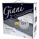 Giani 工作台面漆套装 岩石灰 Value Not Found FG-GI SLATE