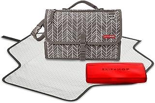 美国Skip Hop Pronto Signature便携式多功能婴儿换片垫/布尿垫-灰色SH202210