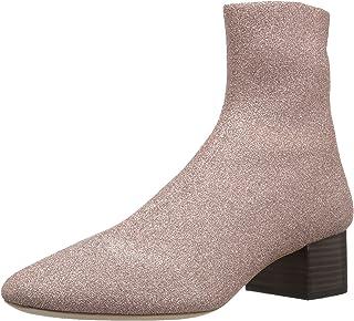 Loeffler Randall 女士 Carter (金属针织)Chelsea 靴子