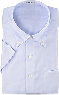 ORIHIKA涼爽短袖 棉* 免燙襯衫 【定型/棉/可選顏色圖案變化】 男士