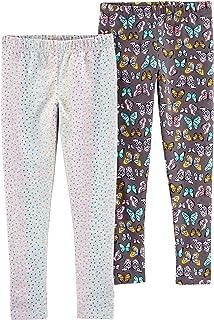 Carter's 卡特女童 4-8 2 条装打底裤