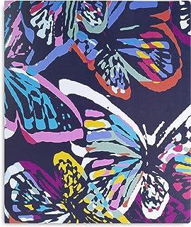 Vera Bradley 3 环活页夹 Butterfly Flutter