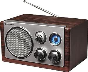 Roadstar HRA-1245/WD 复古风格 FM/MW 收音机