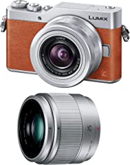 Panasonic 无反数码相机 DC-GF9 双变焦镜头套装 标准变焦镜头/附带定焦镜头 DC-GF9W