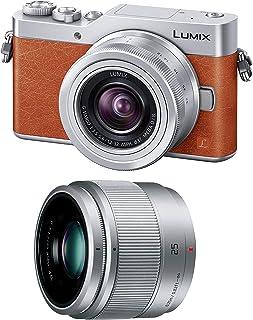 Panasonic 松下电器 无反相机 DC-GF9 双变焦镜头套装 附带标准变焦镜头/定焦镜头 DC-GF9W