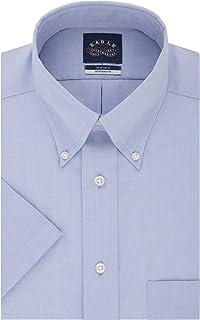 Eagle 男式短袖襯衫免燙標準剪裁