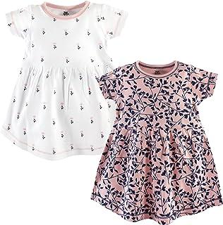 YOGA Sprout 宝贝女孩棉质连衣裙2件装