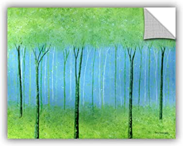 """ArtWall Herb Dickinson's Peaceful Place Art Appeelz Removable Graphic Wall Art, 24 x 32"""""""