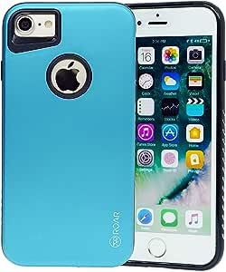 iPhone 7/8 手机壳,Roar [混合装甲][哑光表面]防震防摔防滑超薄[全身]手机壳适用于 iPhone 7 8(4.7 英寸) 绿色