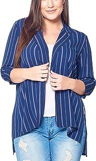 Talent Plus 女式青少年加大码纯色/印花外套 - 多种款式!